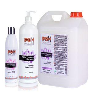PSH White Titanium Shampoo